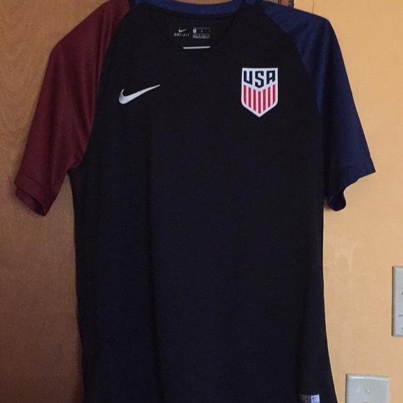 80a7ba819c2 Nike Shirts | Usa Mens Soccer Jersey | Poshmark